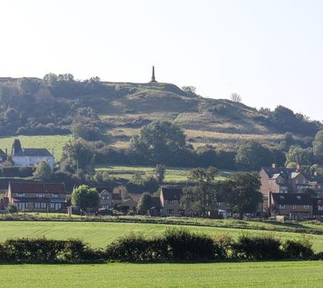 Castle Farm by Ham Hill in Stoke Sub Hamdon
