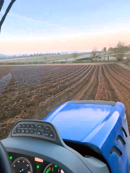 Potato Drilling with Harry Hebditch - Castle Farm